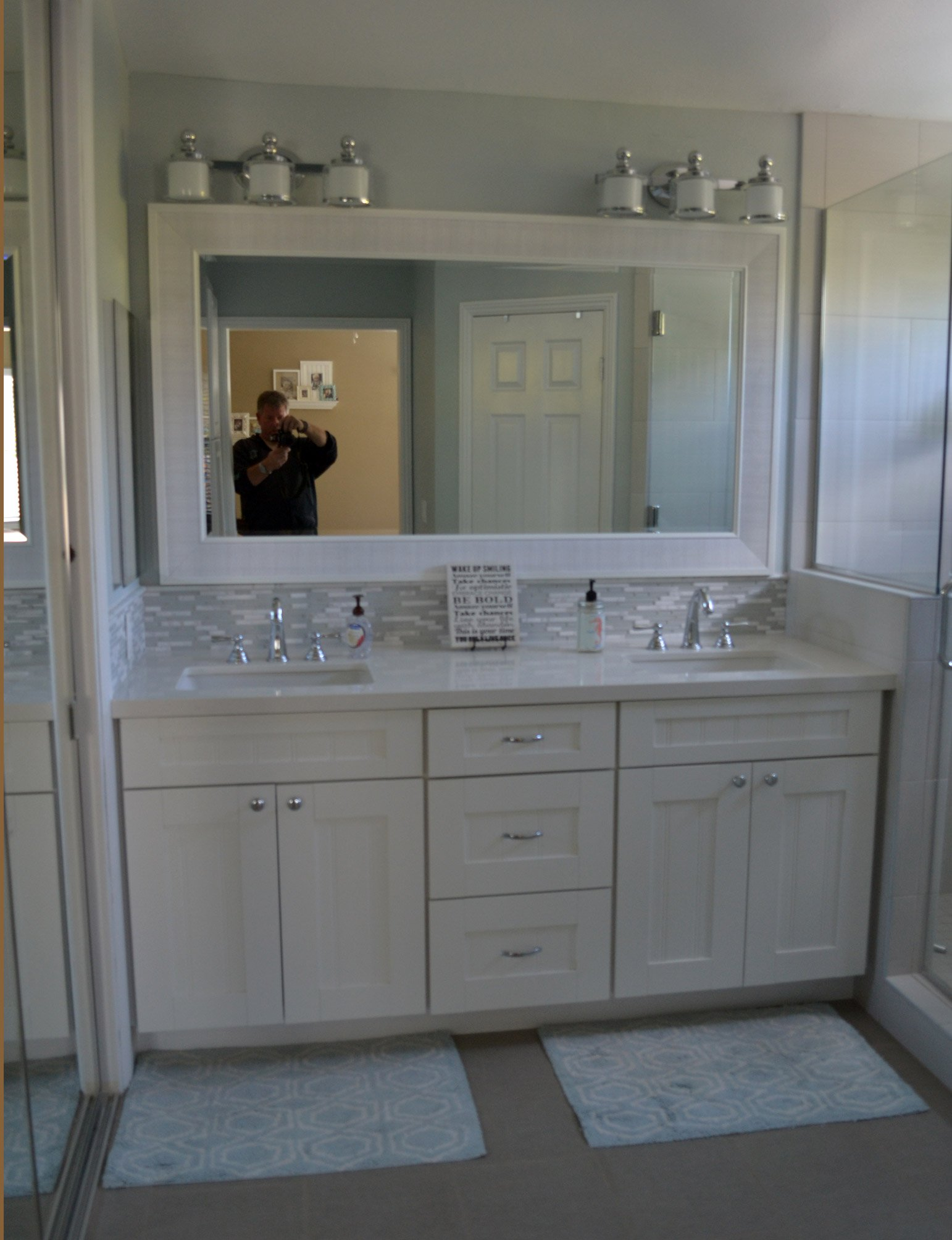 Bathroom Cabinet Remodel bathroom remodeling | hk construction san diego