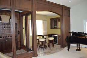 Custom Room Remodel into Wine Storage HKC 2011 v3