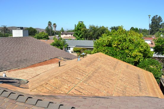 Roofing Contractor Repair Damage