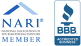 HK Construction San Diego contractor is Member of NARI and BBB A+ Rating.