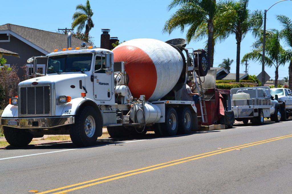 Concrete Contractors in Poway Truck HKRemodel.com