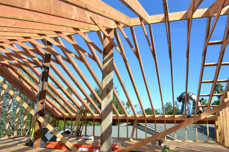 adding a second story room addition framing contractor