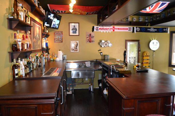 Inside Winnie Pop's Bar Room Man Cave