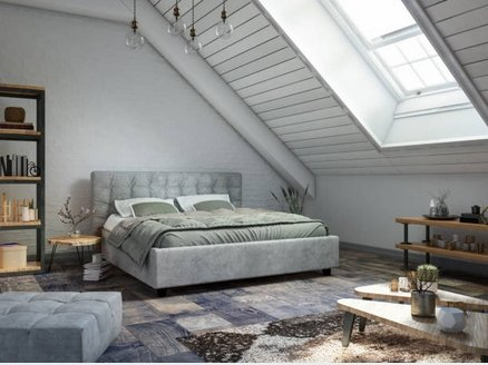 Bedroom loft additions example, photo courtesy iStock
